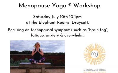 Menopause Yoga ® Workshop